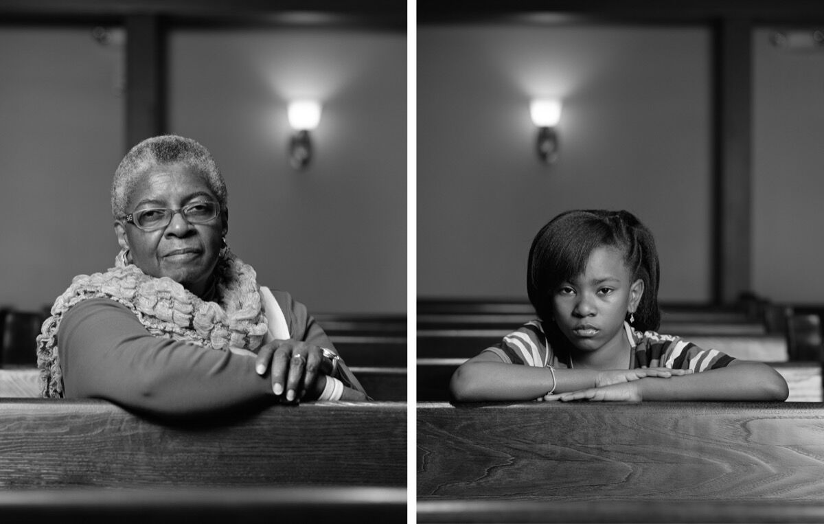 Dawoud Bey, Mathis Menefee and Cassandra Griffin, Birmingham, AL, 2012. Courtesy of the artist.