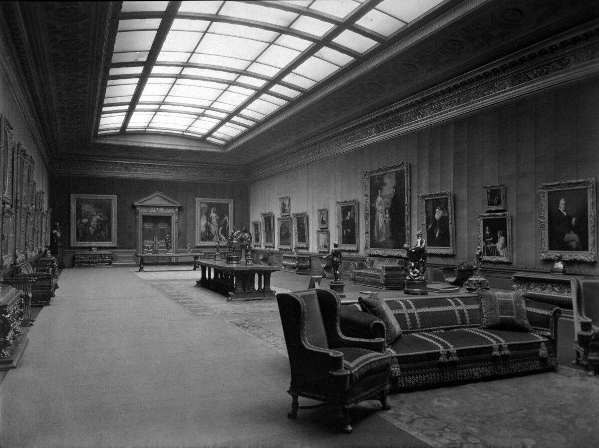 West Gallery, Frick New York Residence, 1927. Photo by Ira W. Martin. Courtesy of The Frick Collection/Frick Art Reference Library Archives.