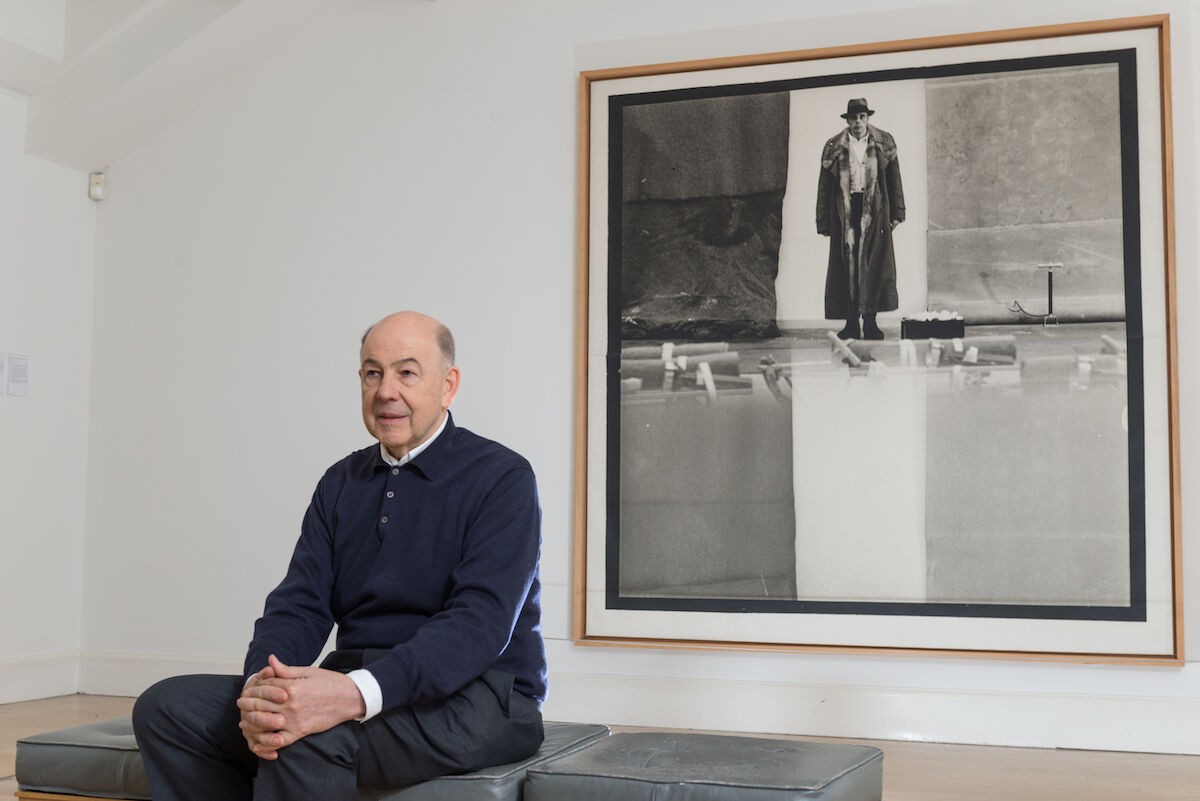 Art dealer Anthony d'Offay. Photo by Roberto Ricciuti/Getty Images.