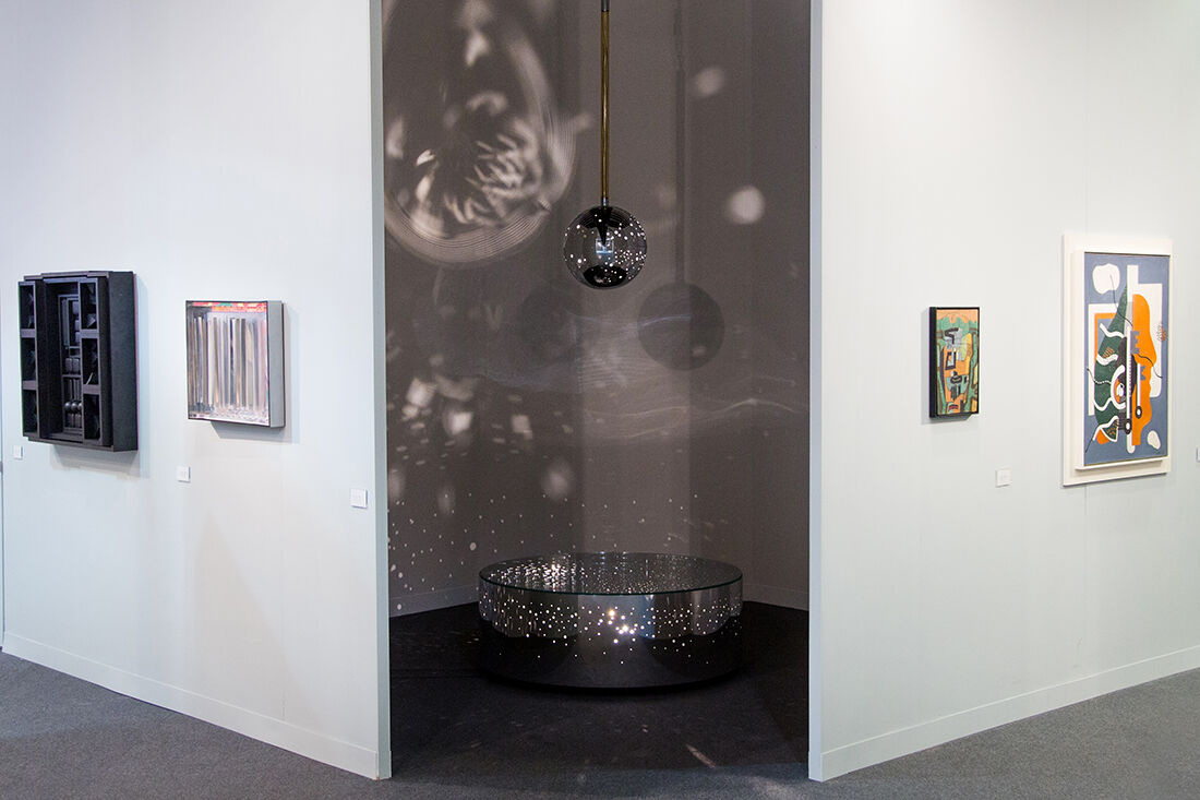 Moeller Fine Art's booth at The Armory Show 2015. Photo by Christophe Tedjasukmana for Artsy