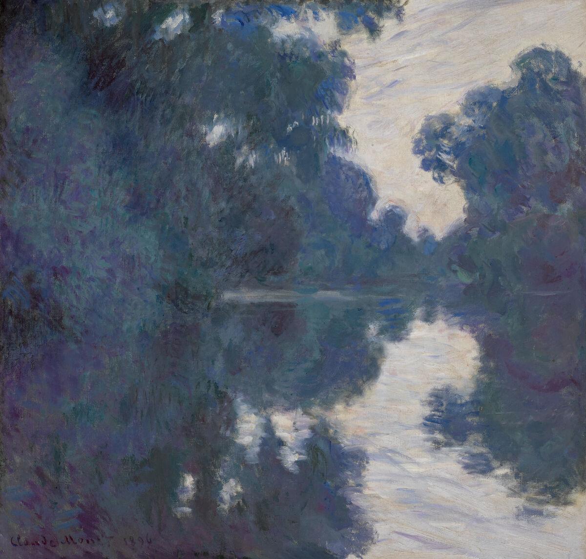 Claude Monet, Matinée Sur La Seine, 1896. Courtesy of Sotheby's.
