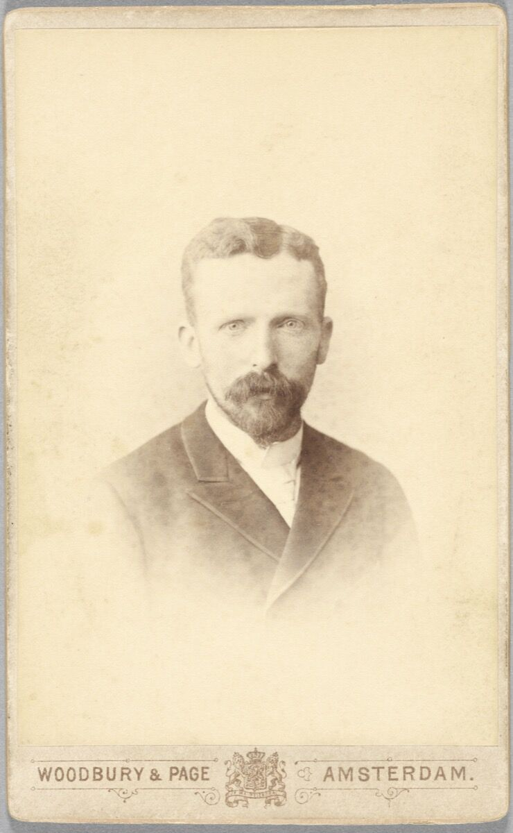 Theo van Gogh, aged 32. Photo by Woodbury & Page, Amsterdam. Courtesy of the Van Gogh Museum, Amsterdam (Vincent van Gogh Foundation).