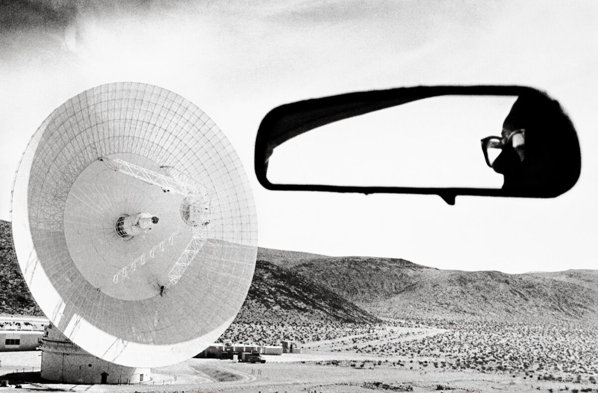 """Dennis Stock,  Mars Station, Goldst,  from the series """"California Trip."""" Reissued by Anthology Editions. © Dennis Stock/Magnum Photos."""