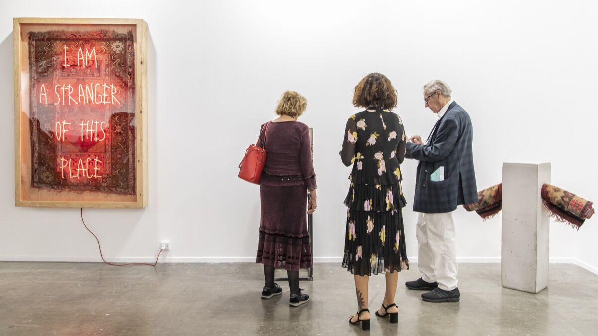 Anna Laudel, installation view at Art Dubai 2019. Courtesy of Photo Solutions.