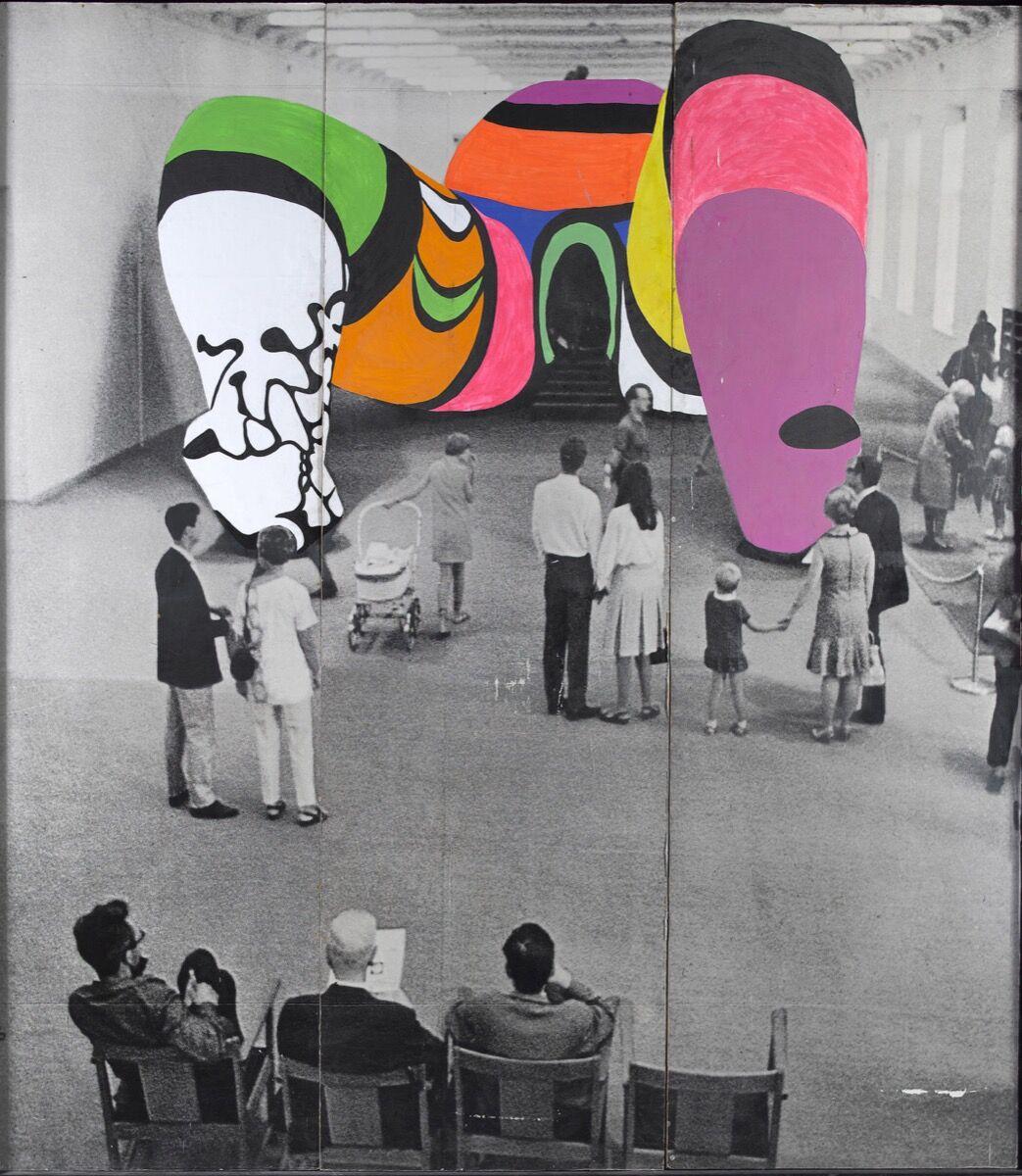 Niki de Saint Phalle. Photo de la Hon repeinte. 1979. Photo by Katrin Baumann. © 2019 Niki Charitable Art Foundation. Courtesy of the Museum of Modern Art.