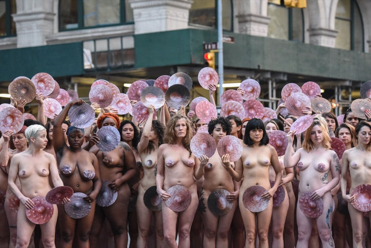 All Nude Image inside spencer tunick's nude photo shoot to challenge