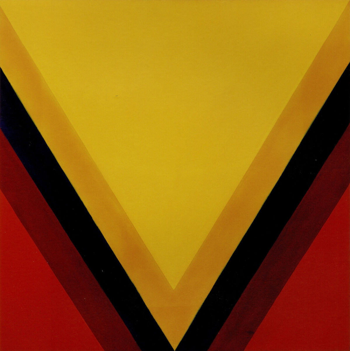 Kenneth Noland, East-West, 1963, magna on canvas. Est. $1 million–$1.5 million. Courtesy Sotheby's.