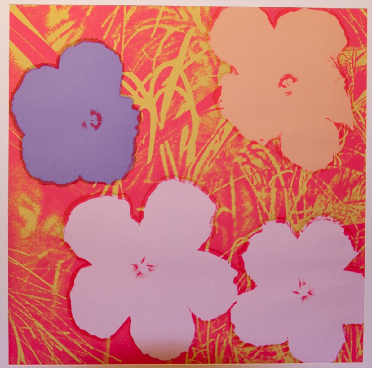 Andy Warhol, Flowers, 1974. Courtesy of NYC Health + Hospitals.