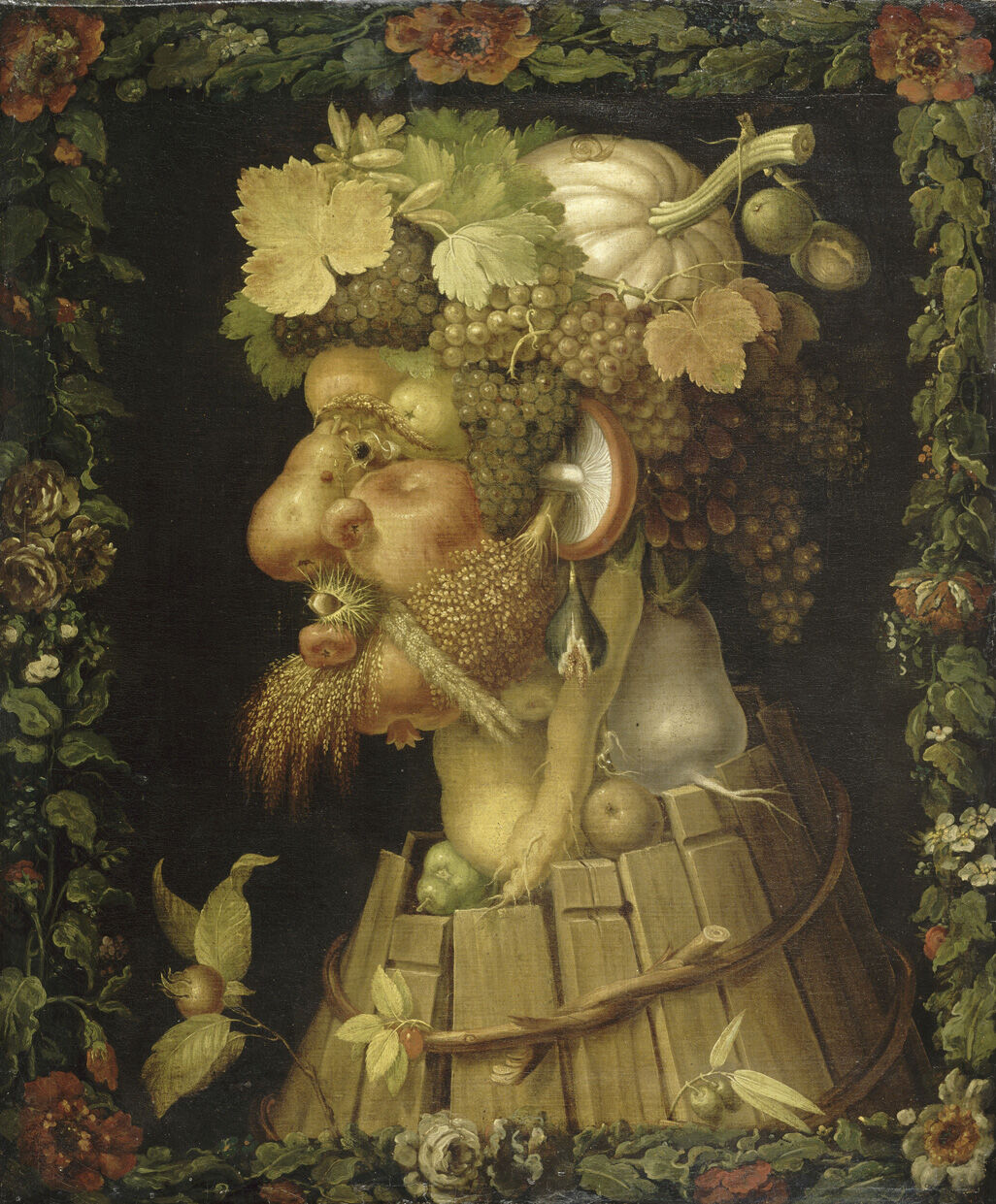 Giuseppe Arcimboldo, Autumn, 1573. Image via Wikimedia Commons.