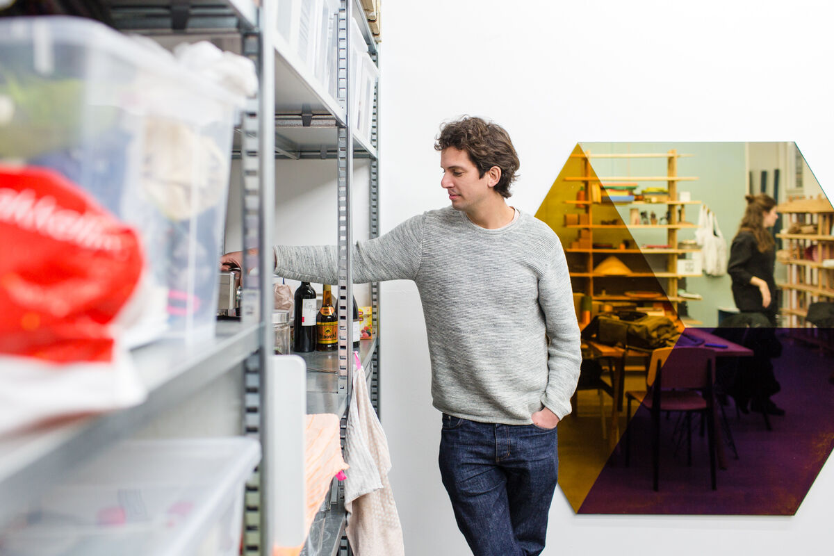 Portrait of Lex Pott in his Amsterdam studio by Jordi Huisman for Artsy.