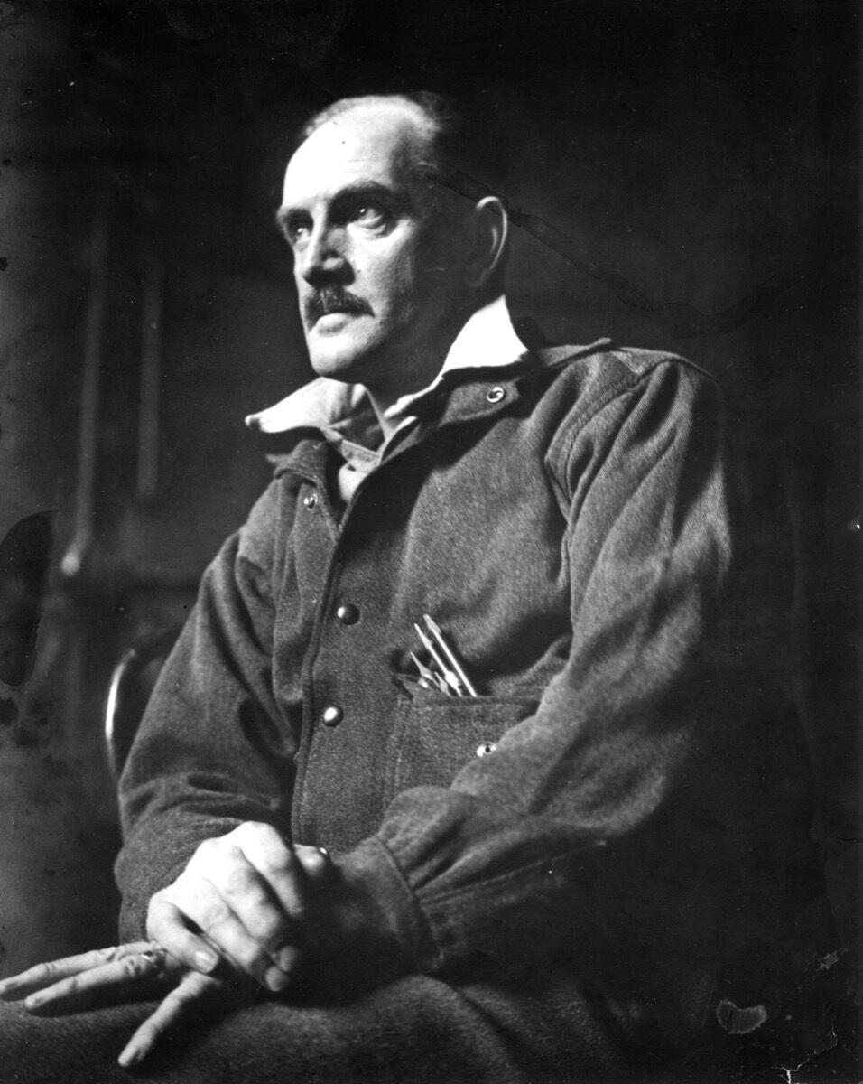 Portrait of Milton Avery, ca. 1930s. Courtesy The Milton and Sally Avery Arts Foundation.