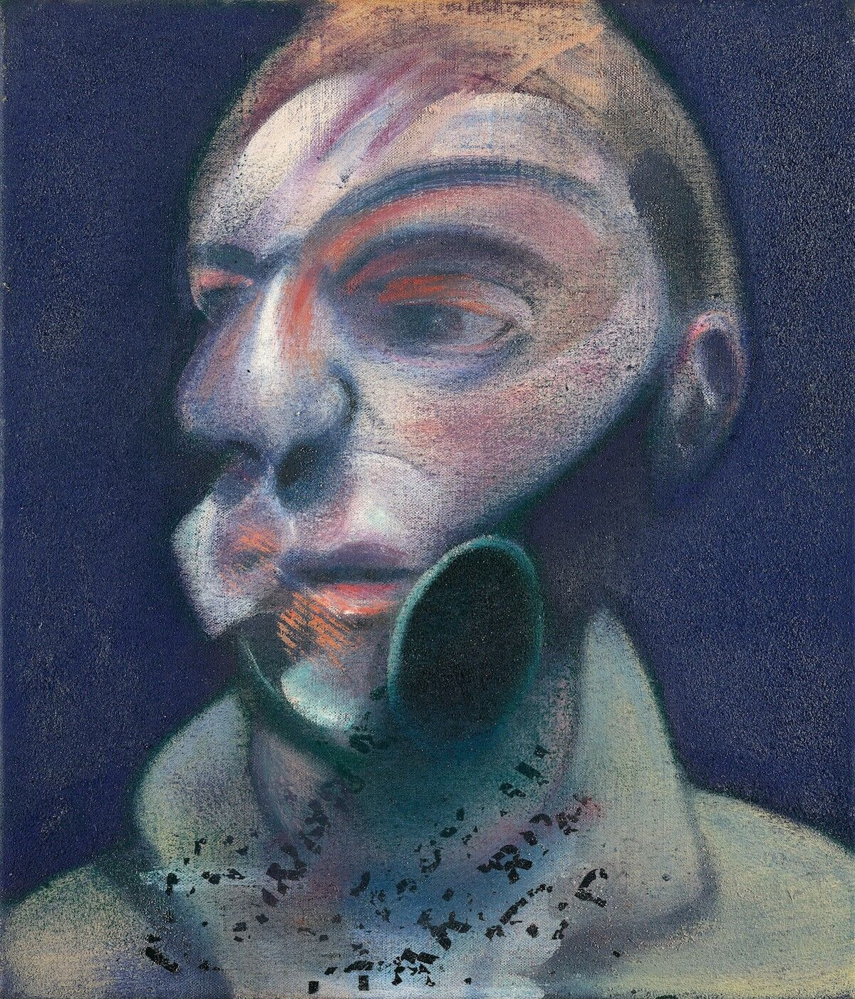 Francis Bacon, Self-Portrait, 1975. Courtesy Sotheby's.