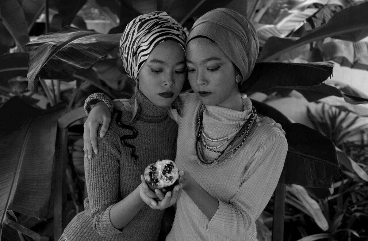 "Nadirah Zakariya, from the series ""GIRLHOOD,"" 2016. Courtesy of the artist."