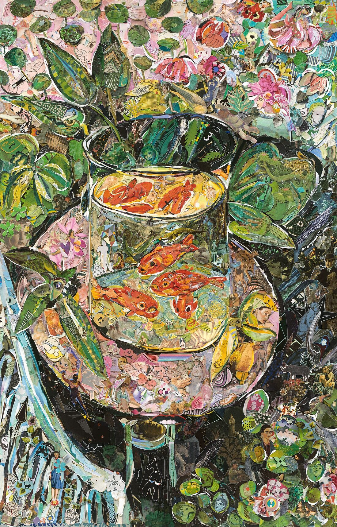 VIK MUNIZ, The Goldfish, after Matisse, 2016. Courtesy of Matthew Liu Fine Arts (Shanghai).