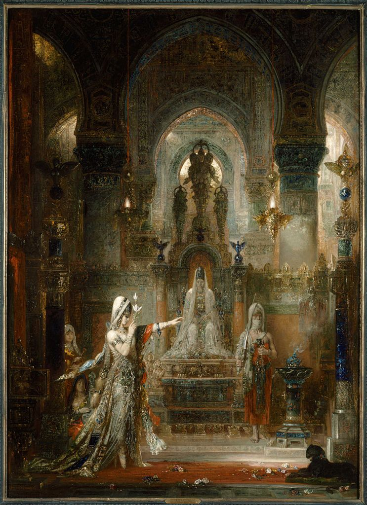 Gustave Moreau, Salome Dancing before Herod, 1876. Image via Wikimedia Commons.
