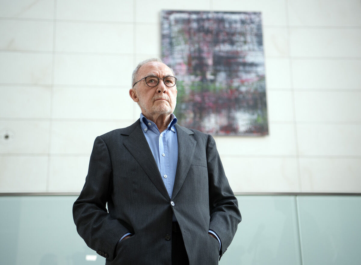 Gerhard Richter. Photo by Soeren Stache/picture alliance via Getty Images.