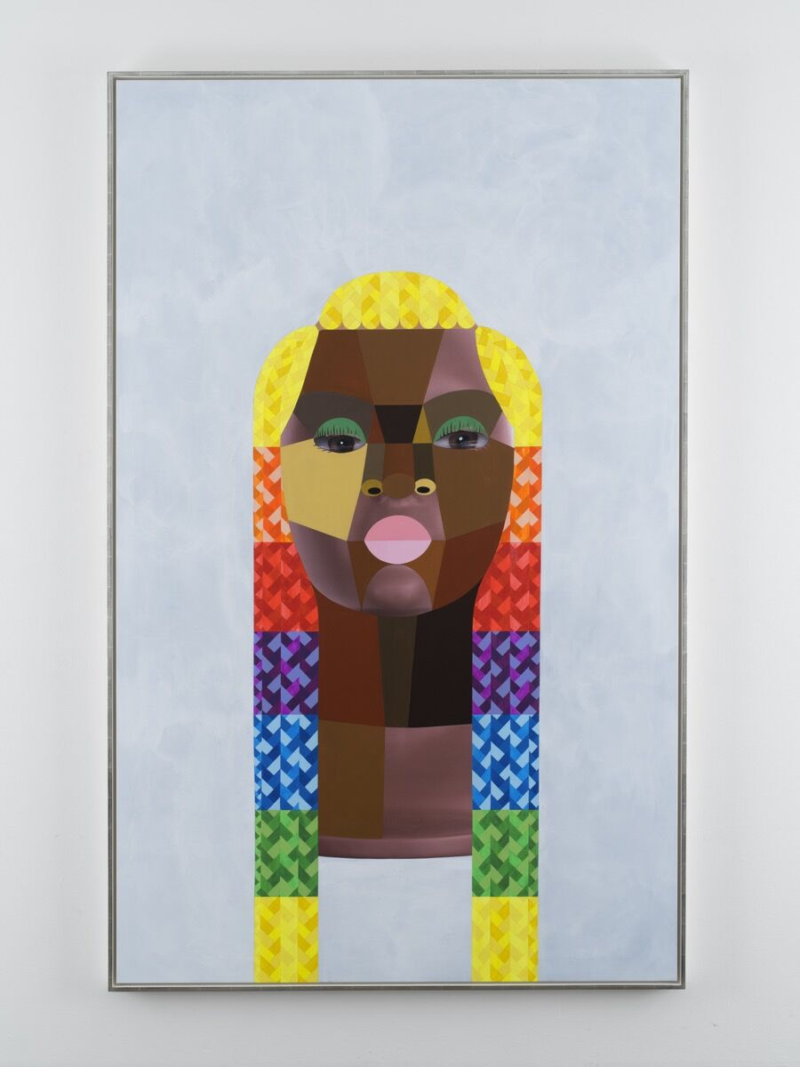 Derrick Adams, Style Variation 34, 2020. © Derrick Adams. Courtesy of the artist and Salon 94, New York.