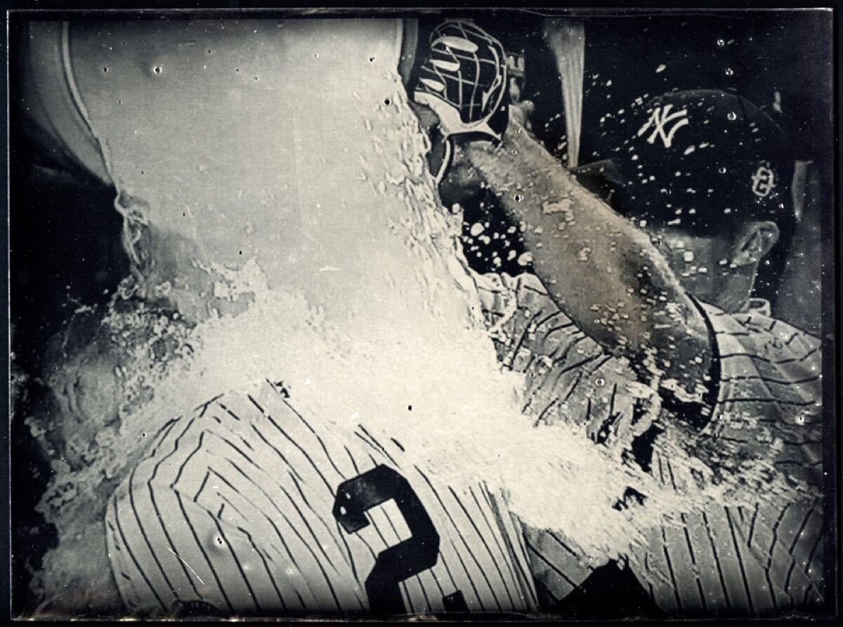 Tabitha Soren, Derek Jeter's last game in Yankee Stadium, New York, 2014. ©Tabitha Soren. Courtesy of Aperture.