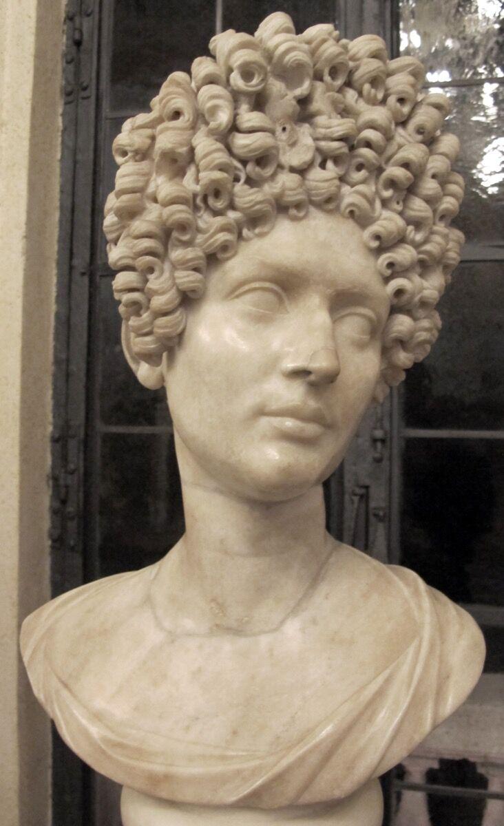 Busto de Fonseca, imagen del siglo II d. C. a través de Wikimedia Commons.