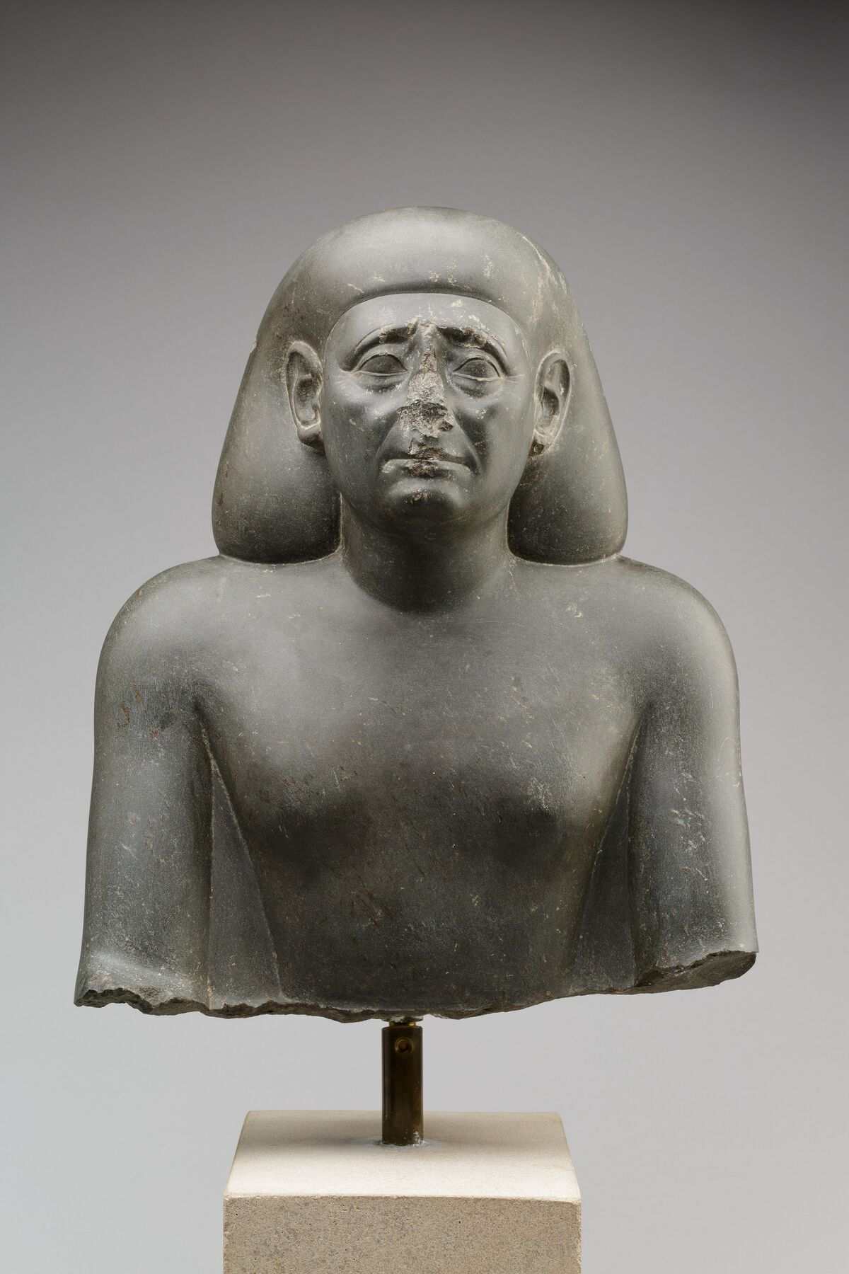 Bust of an Official, 380–342 B.C. Courtesy of The Metropolitan Museum of Art.
