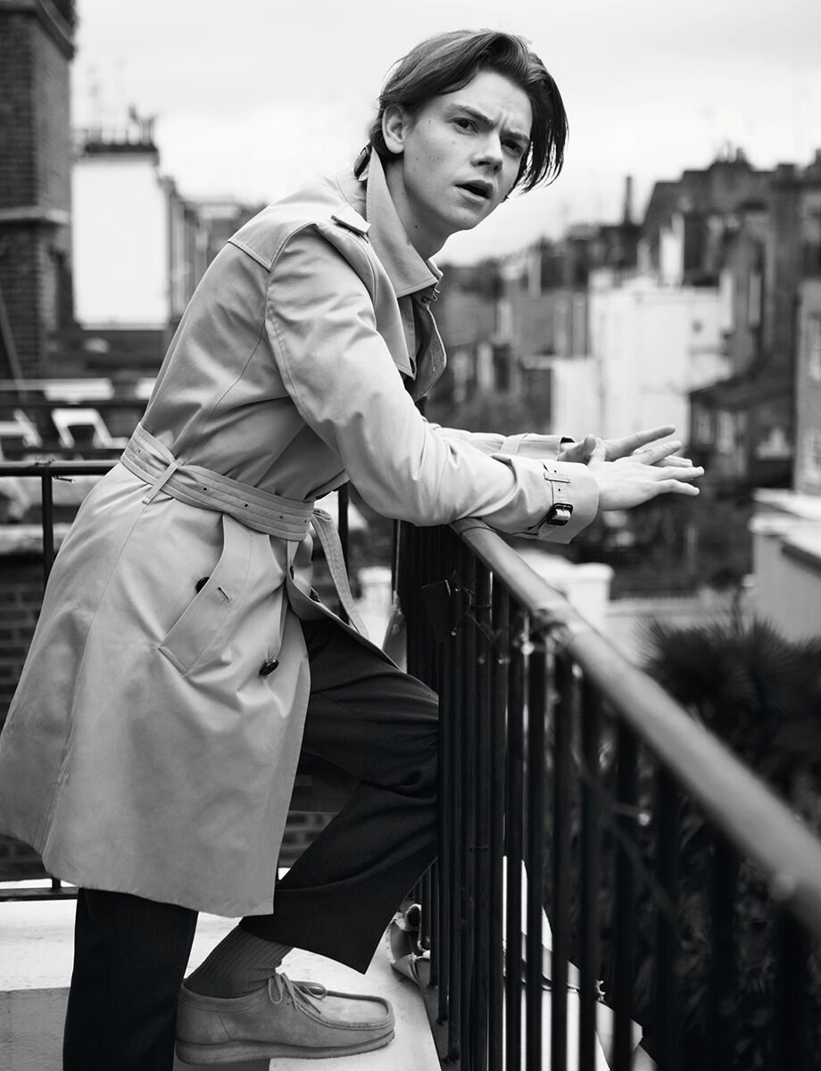 Portrait of Thomas Brodie-Sangster by Cecilie Harris. Courtesy of Boys by Girls.