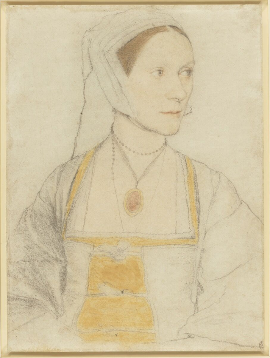 Hans Holbein II, Cecily Heron, daughter of Sir Thomas More, c. 1527. © Her Majesty Queen Elizabeth II 2019.