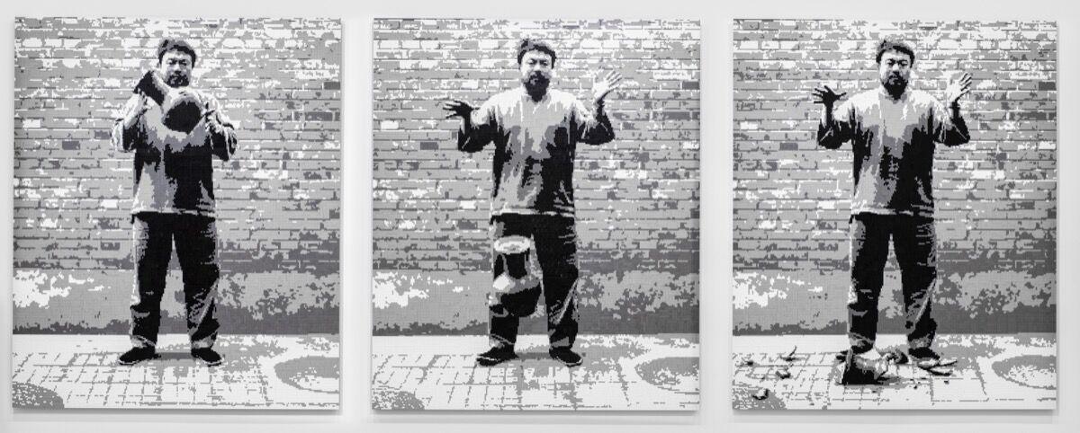 Ai Weiwei, Dropping a Han Dynasty Urn, 2015. Courtesyof Ai Weiwei Studio.