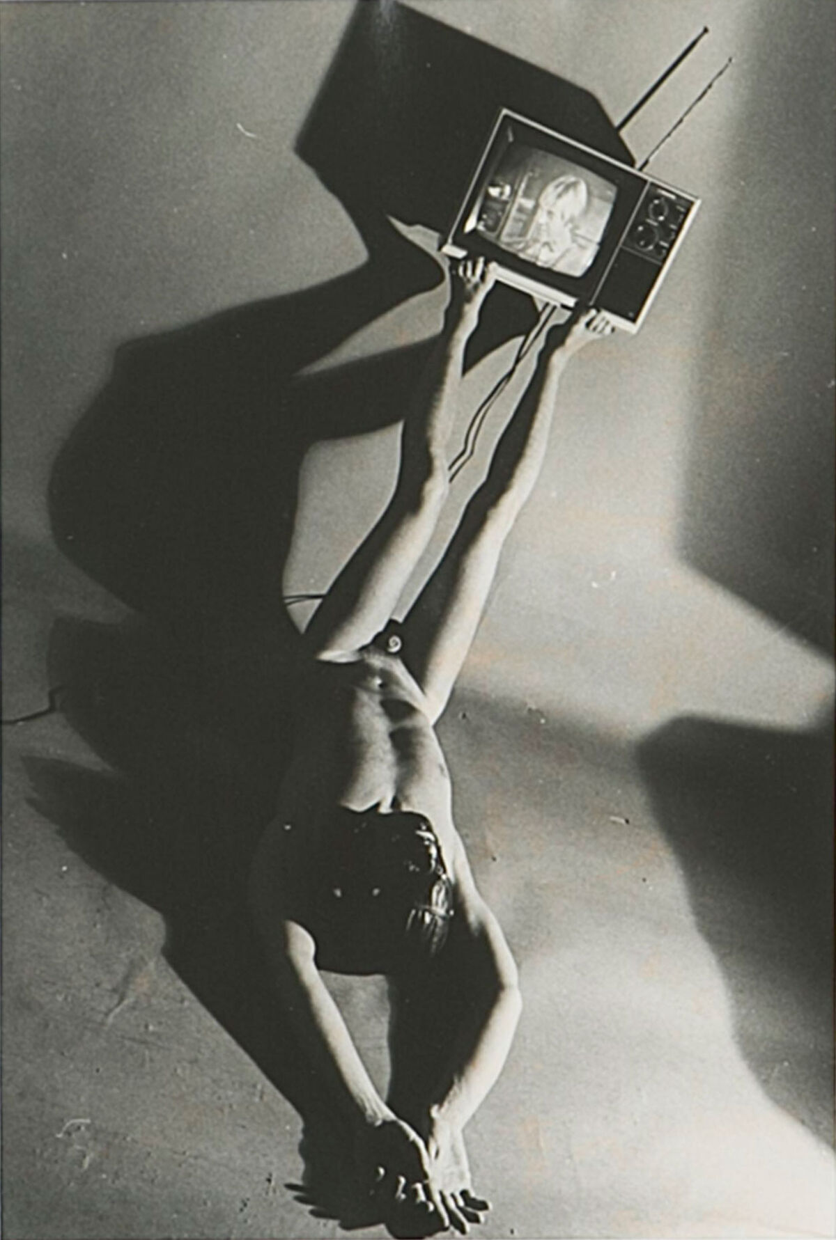 Jimmy DeSana, Television, 1978. Courtesy of the Jimmy DeSana Trust and Salon 94, New York.