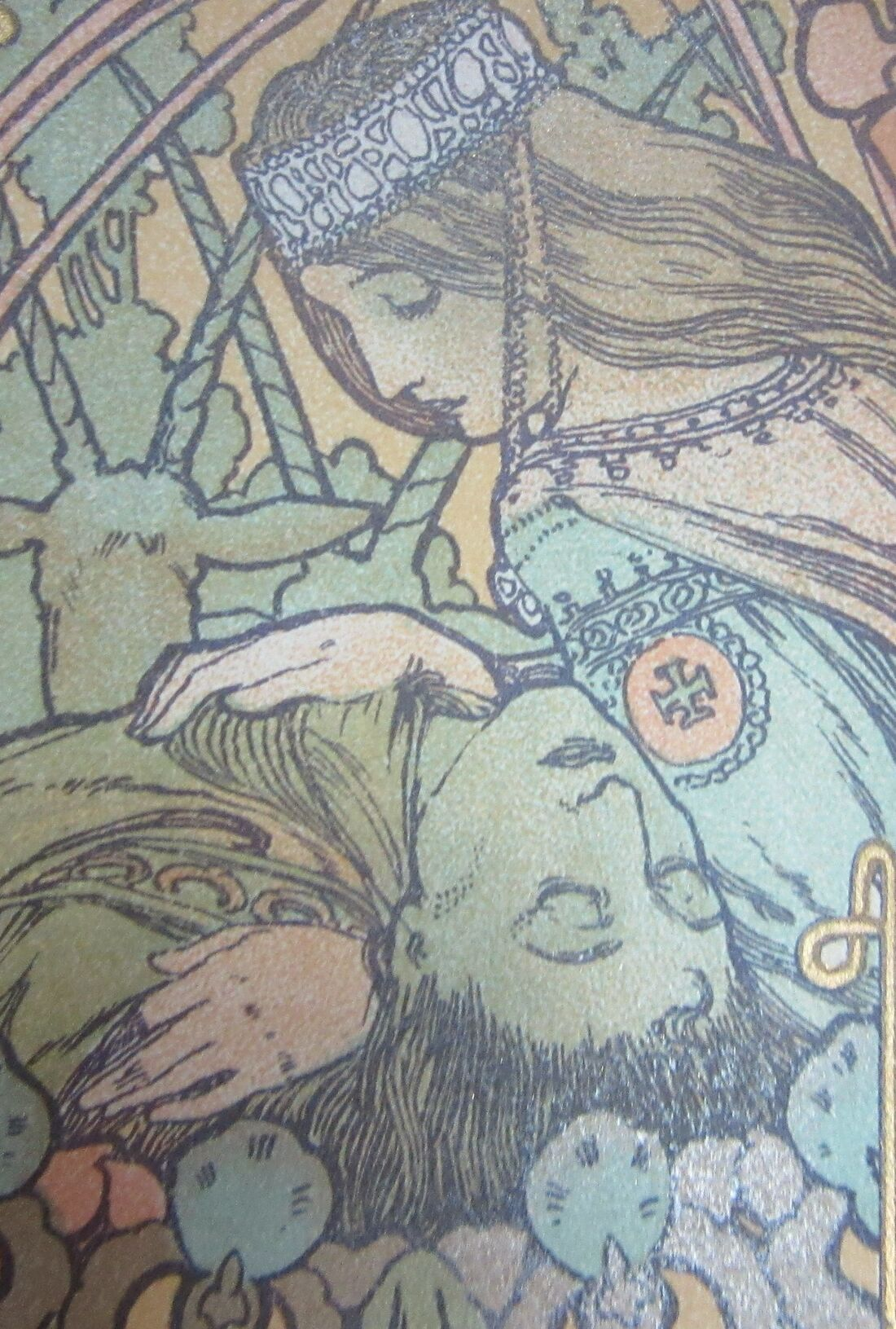 Jaufre dies in Ilsee's arms.