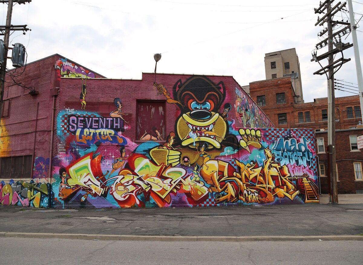 Graffiti art by REVOK Photo by Carnage NYC, via Flickr