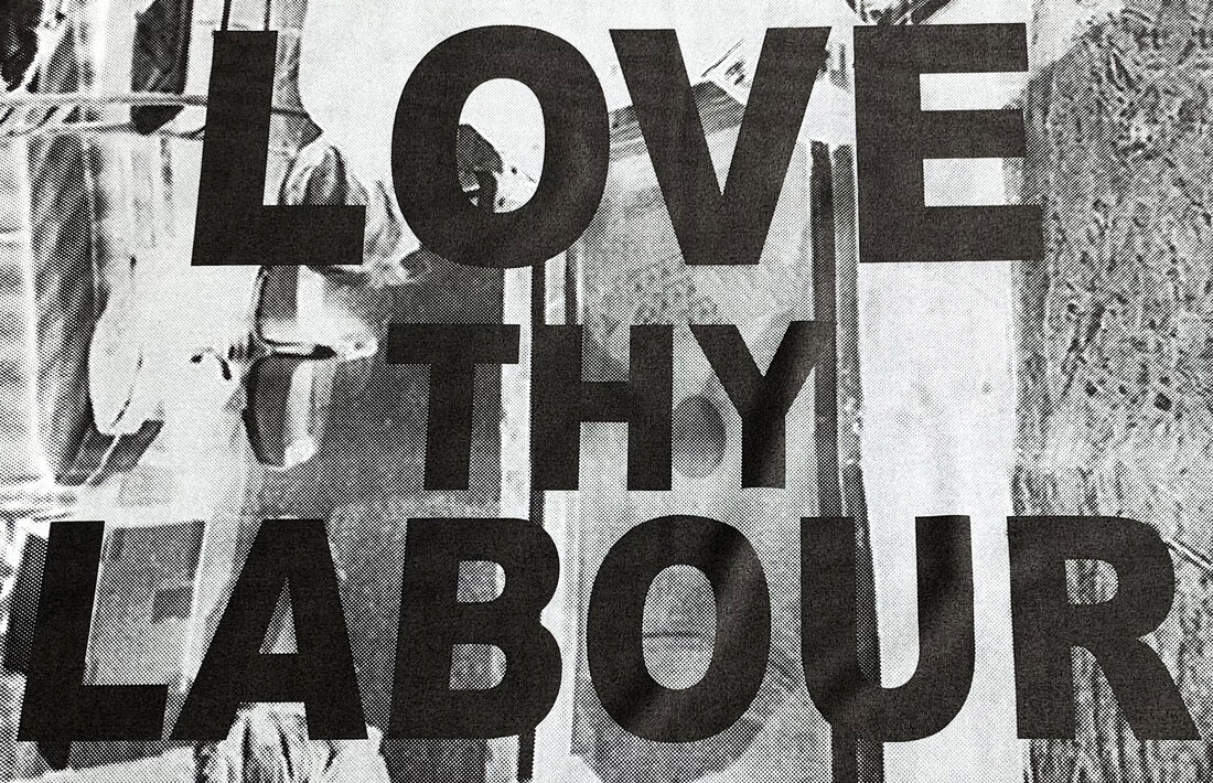 Kay Abude, LOVE THY LABOUR (detail), 2018. Image courtesy of the artist.