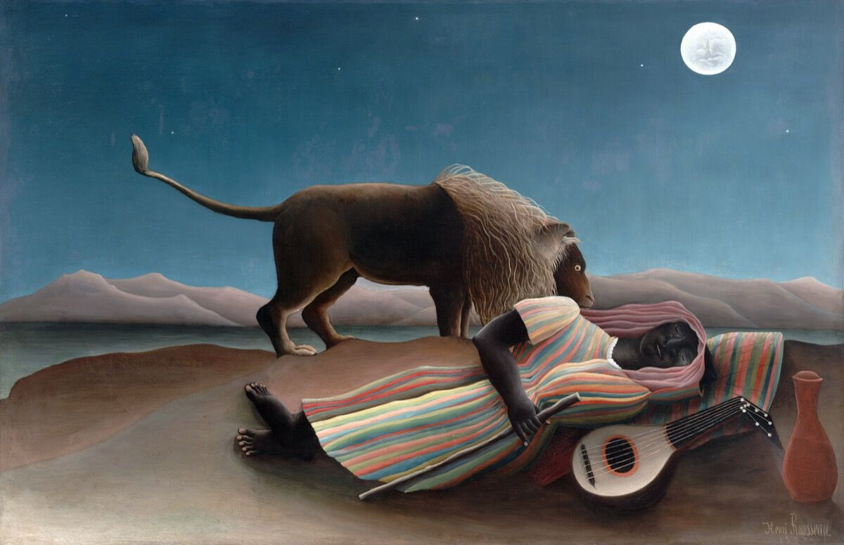Henri Rousseau, The Sleeping Gypsy, 1897. Photo by VCG Wilson/Corbis via Getty Images