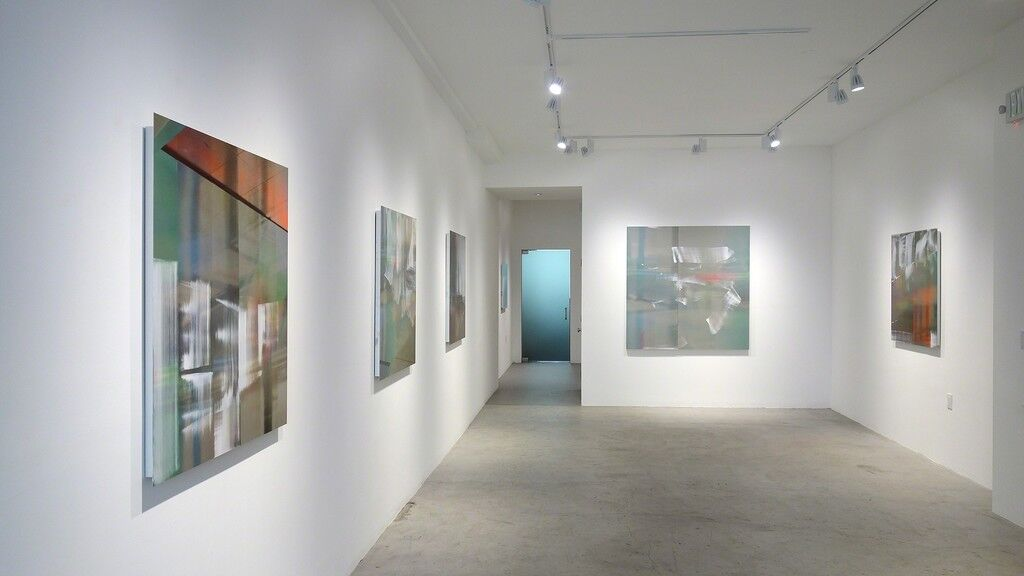 """Installation view of """"Justine Frischmann"""" at George Lawson Gallery. Courtesy of the gallery."""