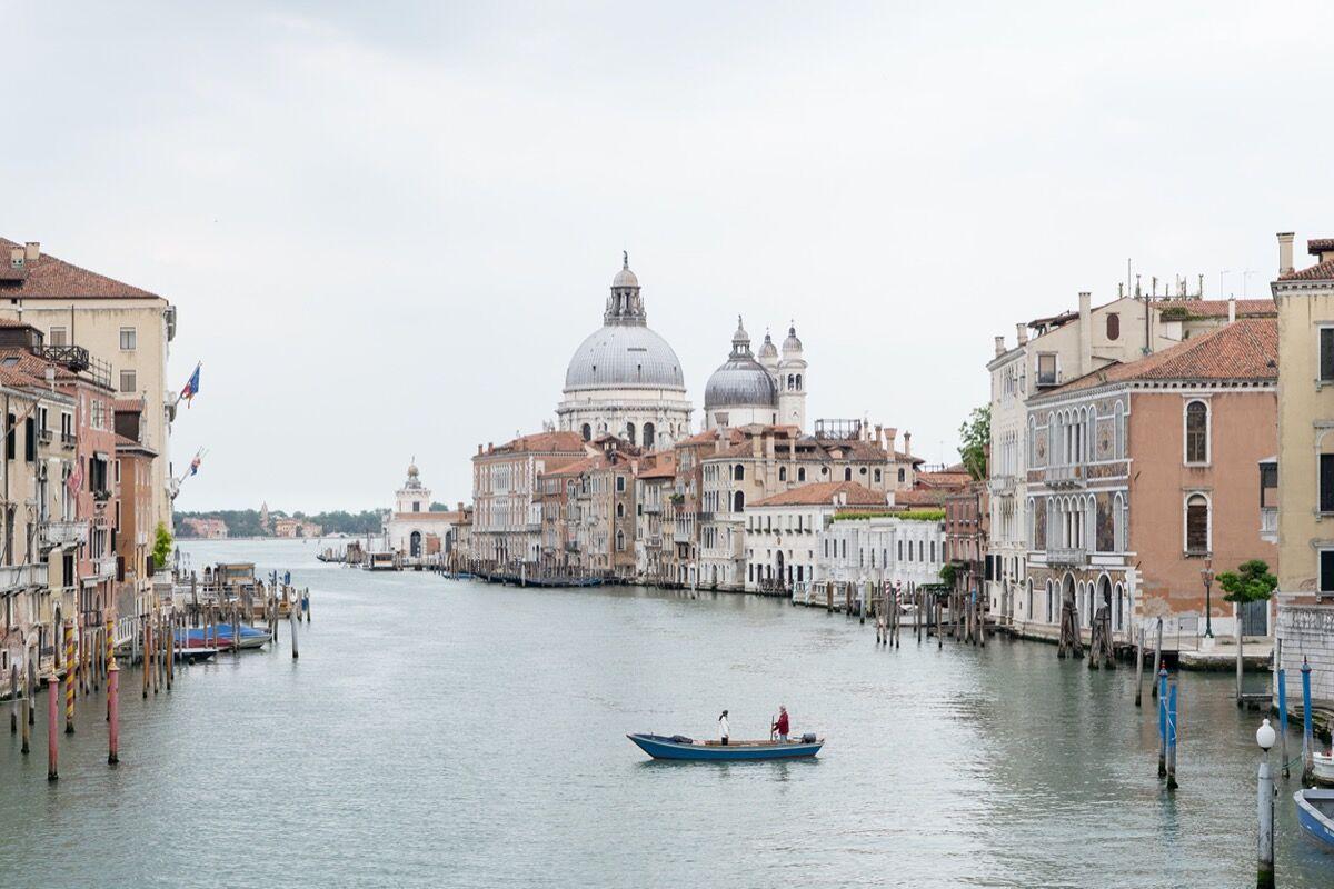 Marco Cappelletti, Venezia, Basilica di Santa Maria della Salute, 2020. Courtesy of Giorgio Barrera.