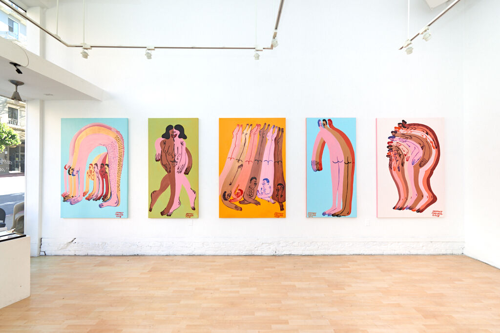"""Jeffrey Cheung, installation view of """"In Unity"""" at Hashimoto Contemporary, 2018. Courtesy of Hashimoto Contemporary."""