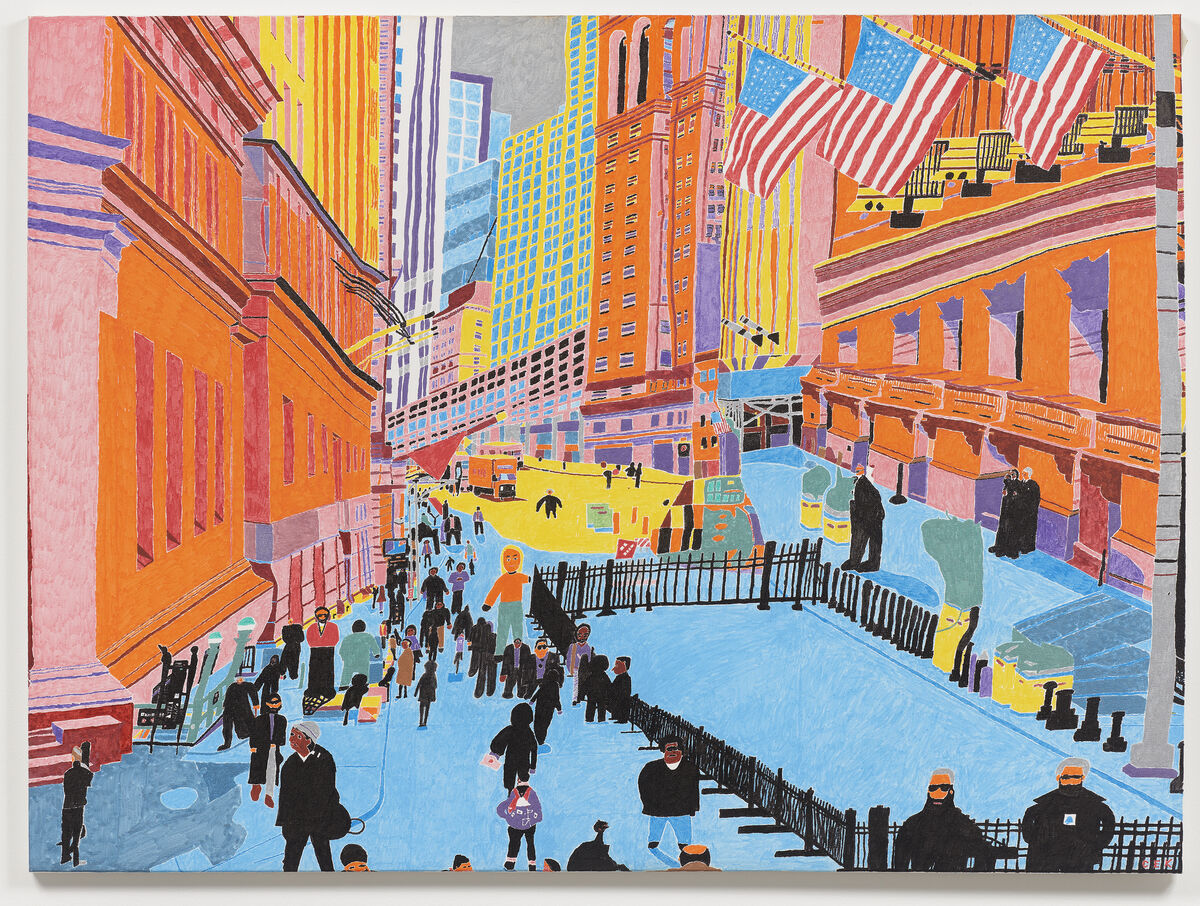 Christopher Knowles, New York Stock Exchange, 2017. Courtesy of the artist and Gavin Brown's Enterprise, New York.