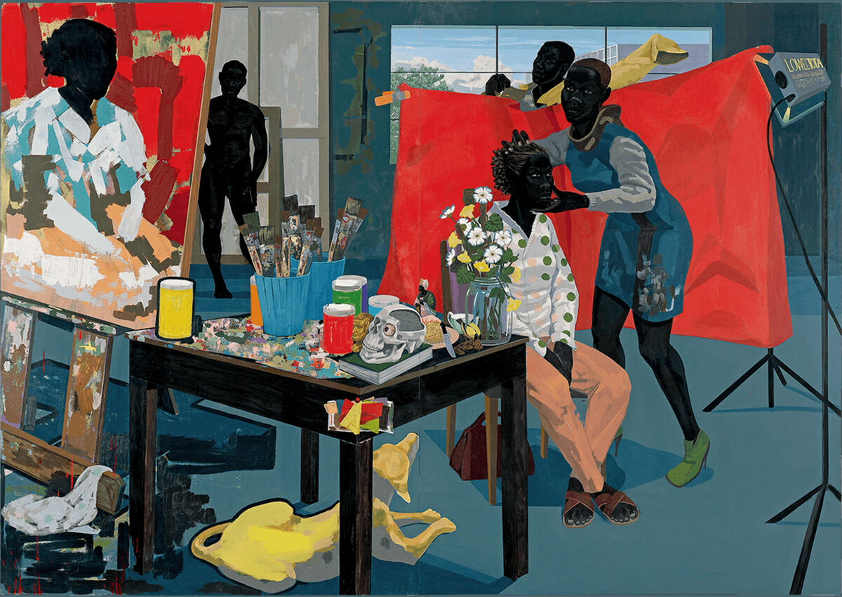 Kerry James Marshall, Untitled (Studio), 2014. Courtesy of the artist and HBO.