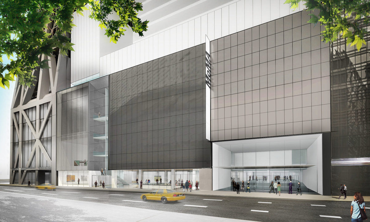 Exterior view of The Museum of Modern Art on 53rd Street. © 2017 Diller Scofidio + Renfro.