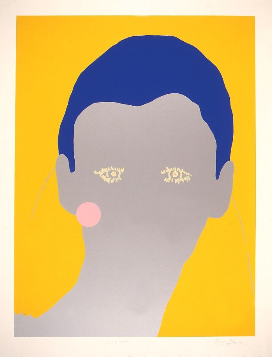 """Gary Hume, Cerith from the """"Portraits"""" portfolio, 1998. © Gary Hume. Courtesy of the artist, The Paragon Press London, and the UBS Art Collection."""