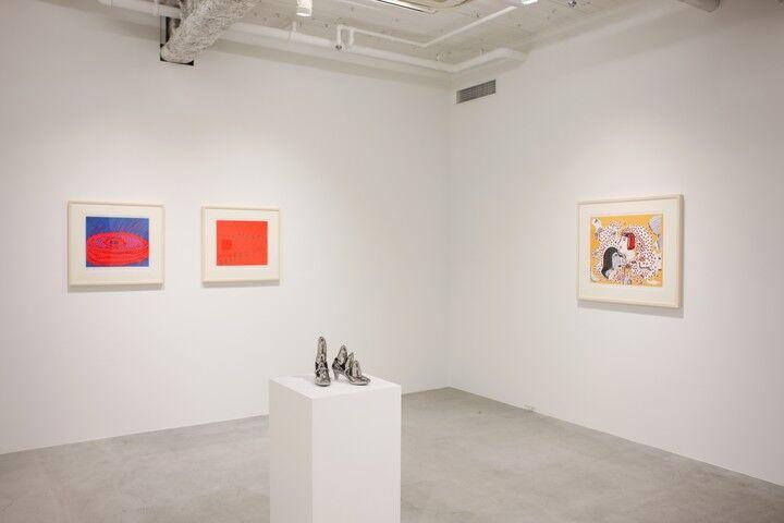 "Installation view of ""Yayoi Kusama: Prints Part2,"" courtesy of Ota Fine Arts"