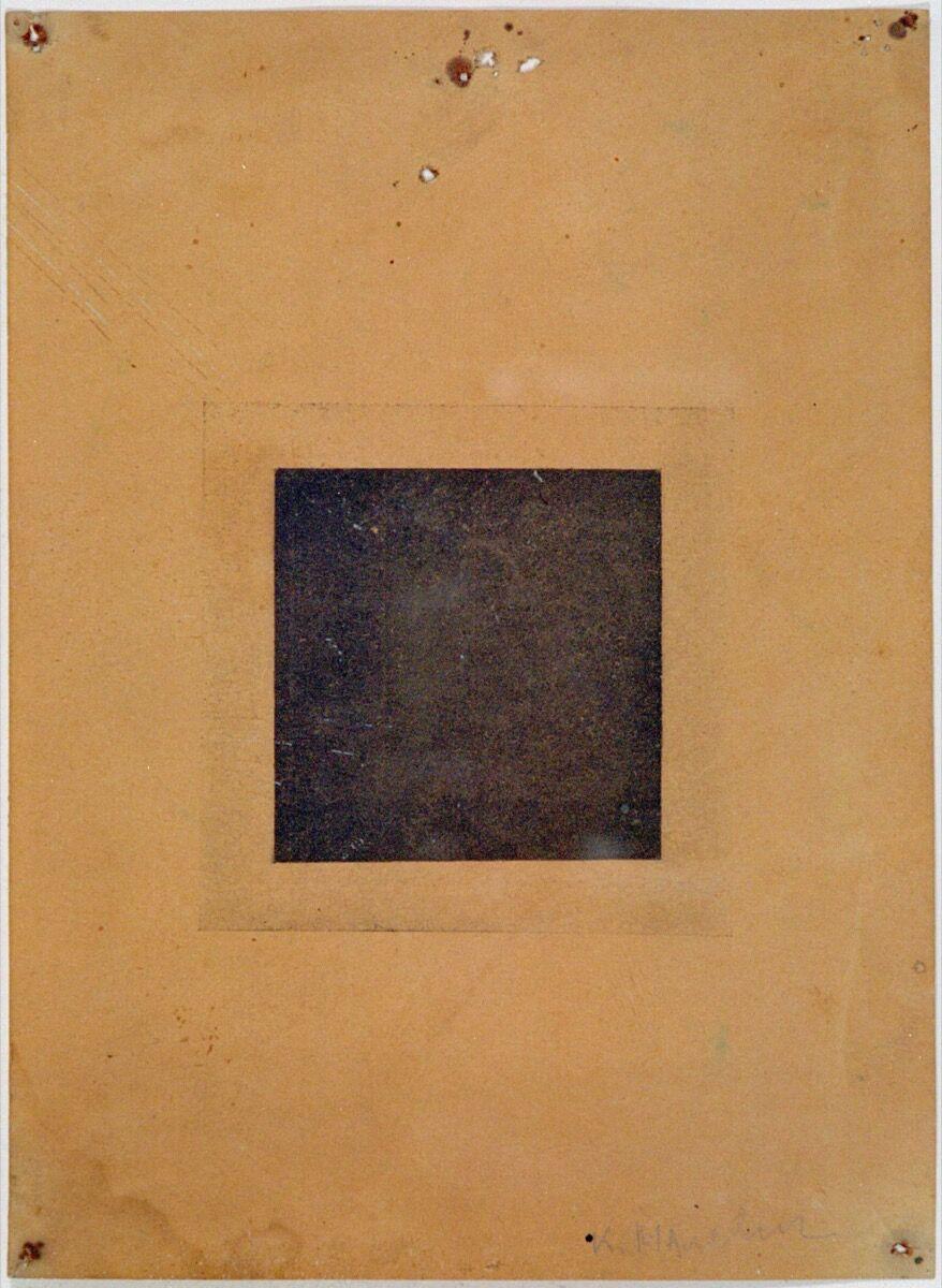 Kazimir Malevich, Black Square, 1915. Courtesy of Galerie Gmurzynska.