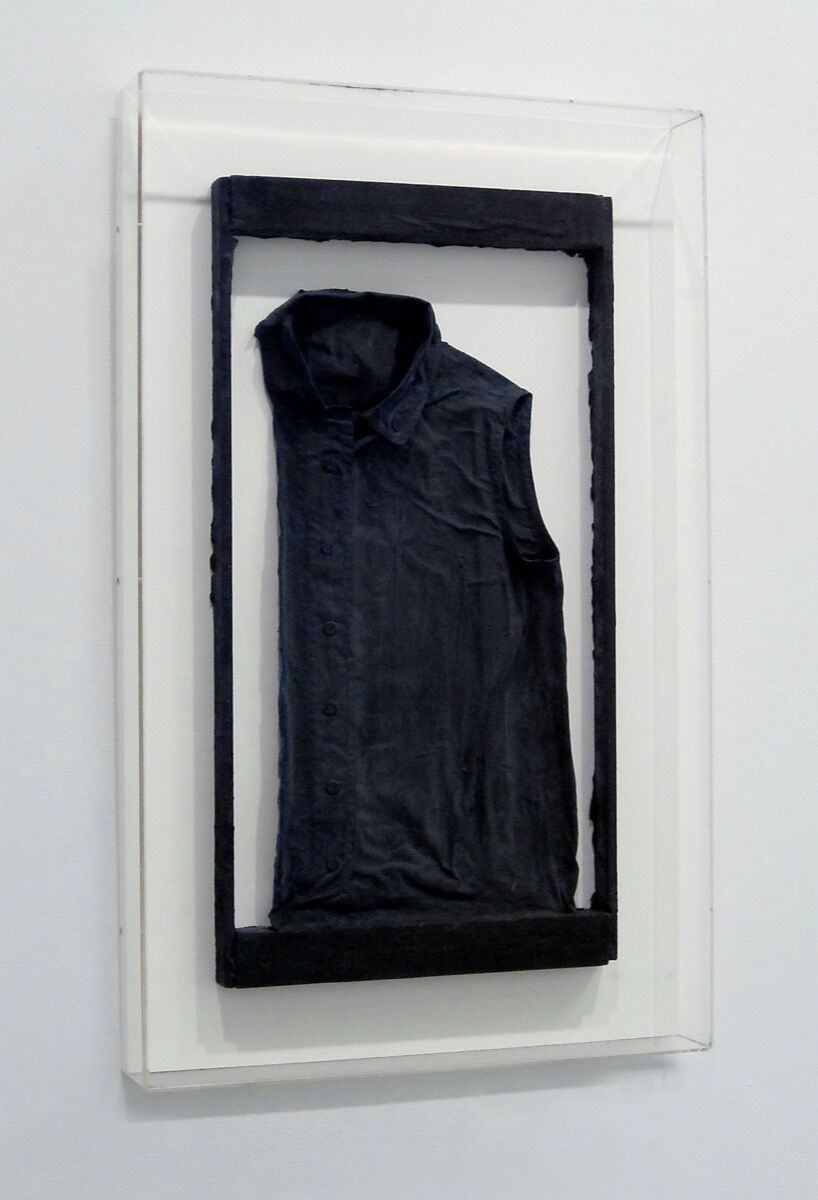Gerhard Richter, Untitled (Ema's blouse), 1962. © Gerhard Richter 2020. Courtesy of the artist, Igal Ahouvi Art Collection, and the Staatliche Kunstsammlungen Dresden.