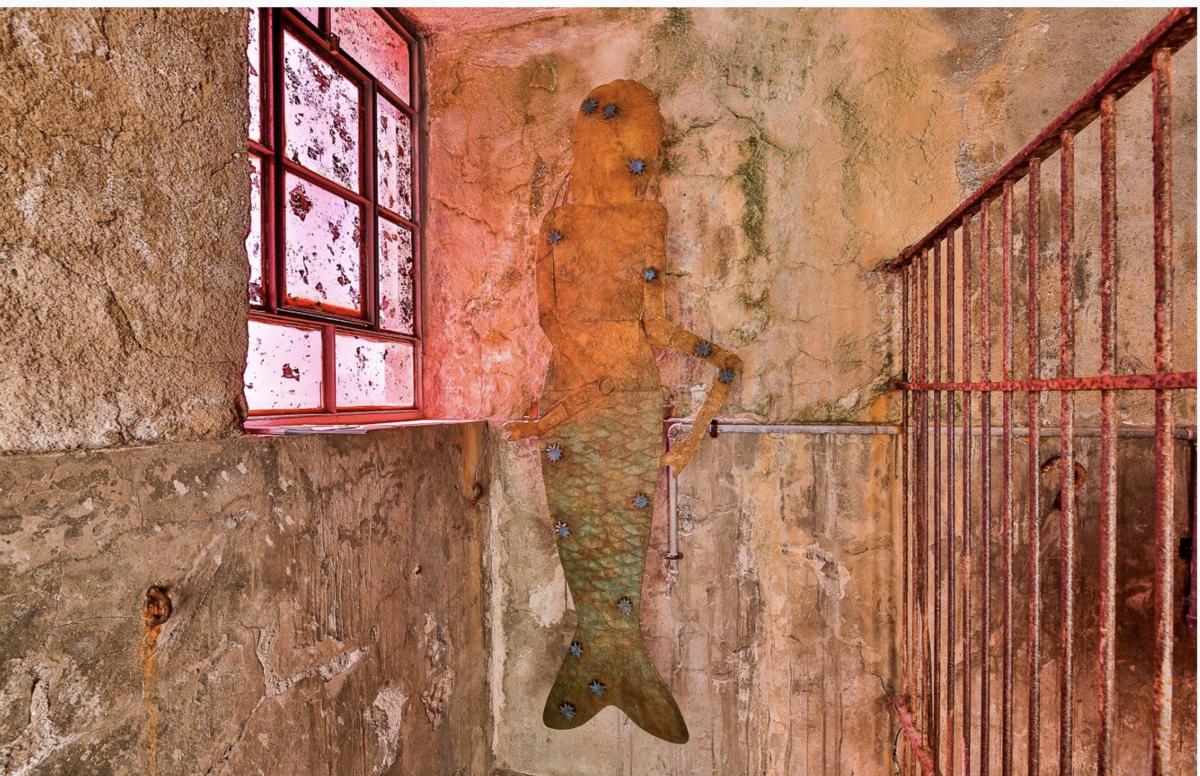 "Installation view of ""Kiki Smith: Memory"" at Deste Foundation Project Space, Slaughterhouse, Hydra. © Kiki Smith. Photo by Eftychia Vlachou."