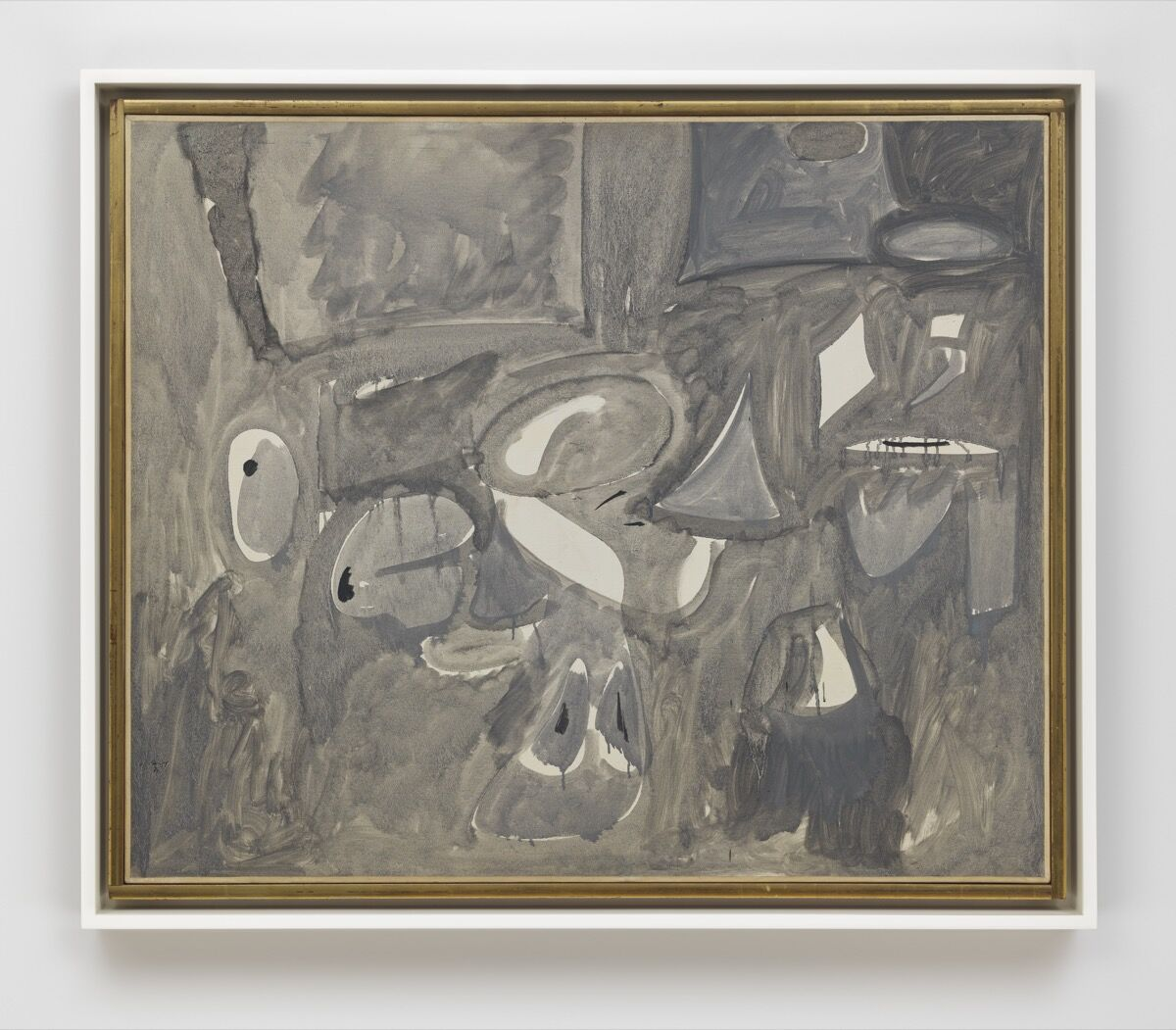 Arshile Gorky, The Opaque, 1947. Photo by Genevieve Hanson. © 2017 The Arshile Gorky Foundation / Artists Rights Society (ARS), New York. Courtesy of The Arshile Gorky Foundation and Hauser & Wirth.