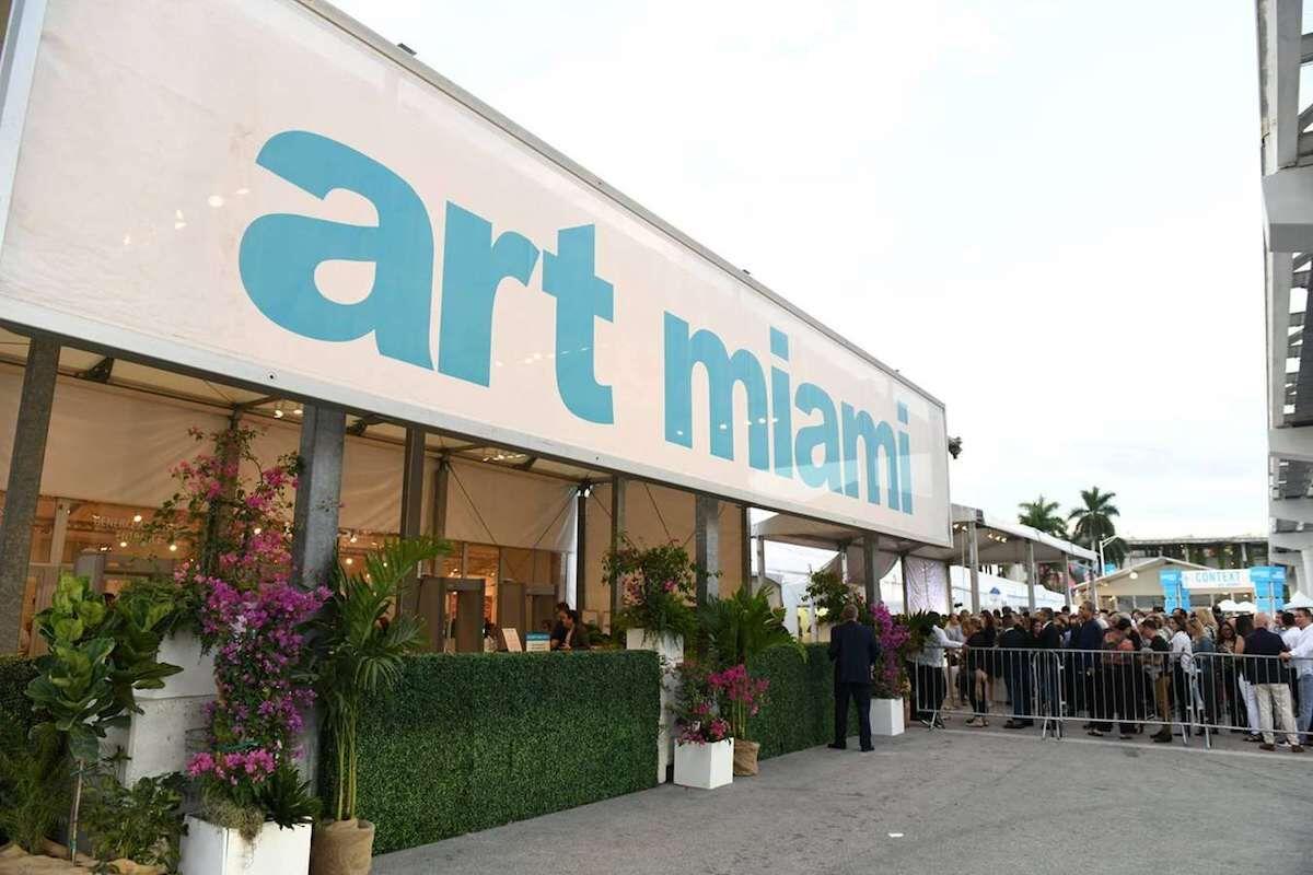 The 2018 edition of Art Miami. Photo courtesy the Art Miami Group.