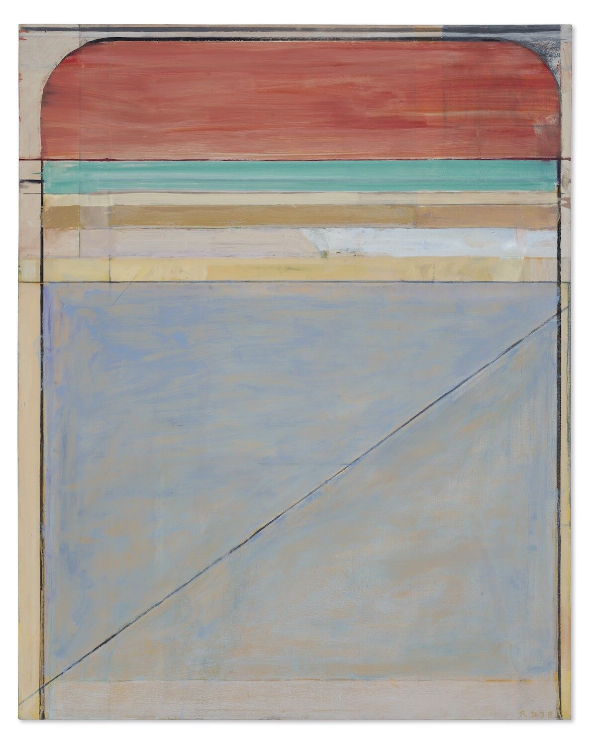 Richard Diebenkorn, Ocean Park #108, 1978. Est. $7 million–$9 million. Courtesy Christie's.
