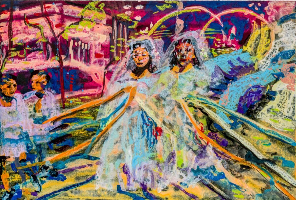 Maia Cruz Palileo, Flores, 2020. Courtesy of the artist and Monique Meloche.