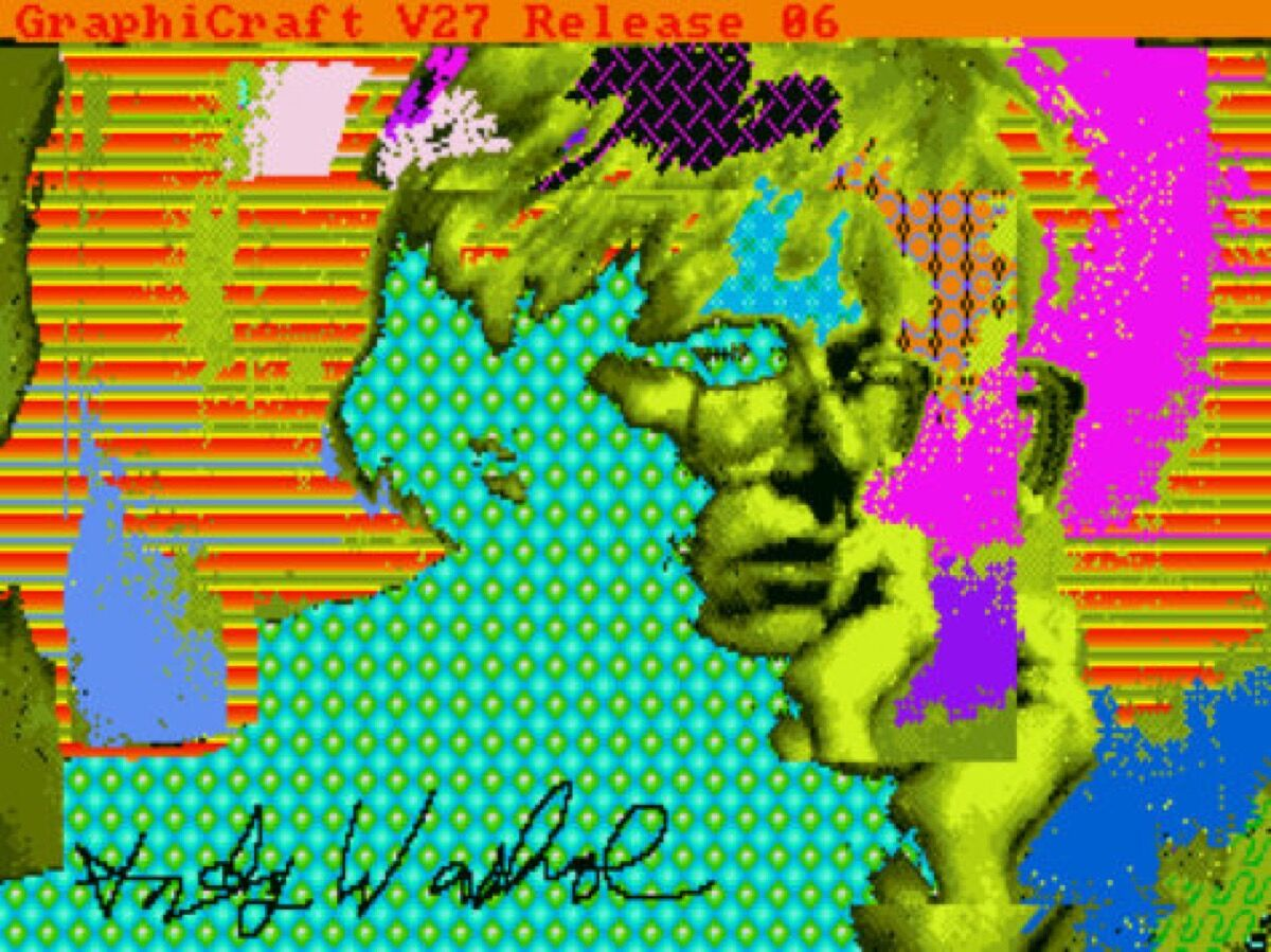 Andy Warhol, Andy2, 1985. © The Andy Warhol Foundation for the Visual Arts, Inc. Courtesy of The Andy Warhol Museum.
