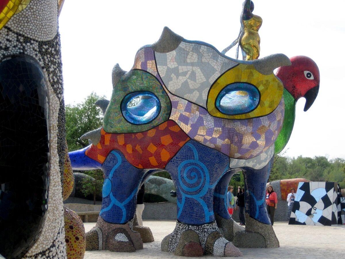 Nikie de Saint Phalle, Queen Califia's Magic Circle, TK Date. Photo by Lea, via Flickr.