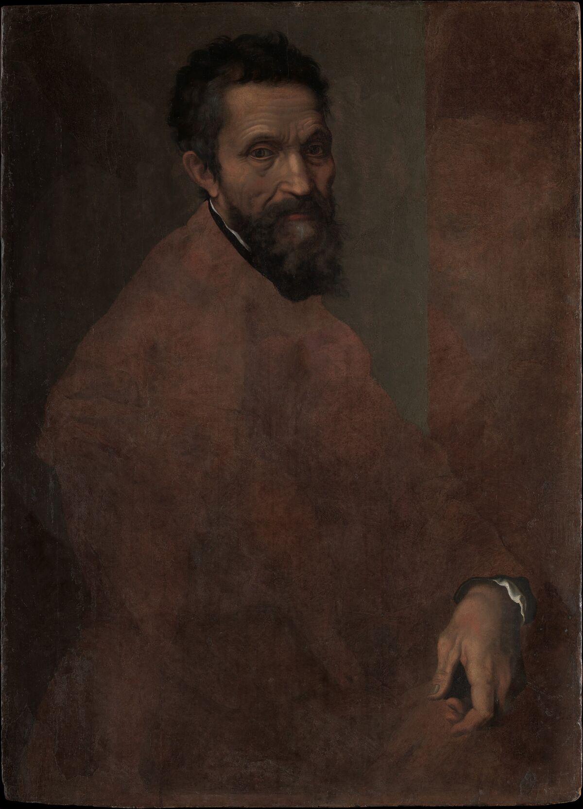 Daniele da Volterra, Michelangelo Buonarroti (1475-1564), ca. 1544. Courtesy of The Metropolitan Museum of Art.